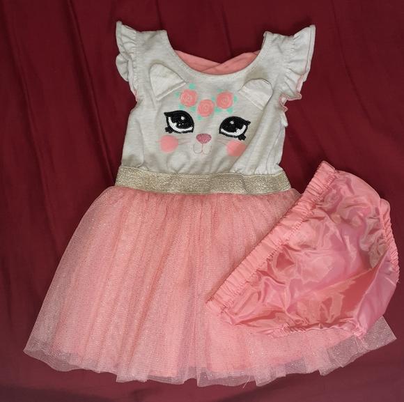 2 piece Kitten Dress